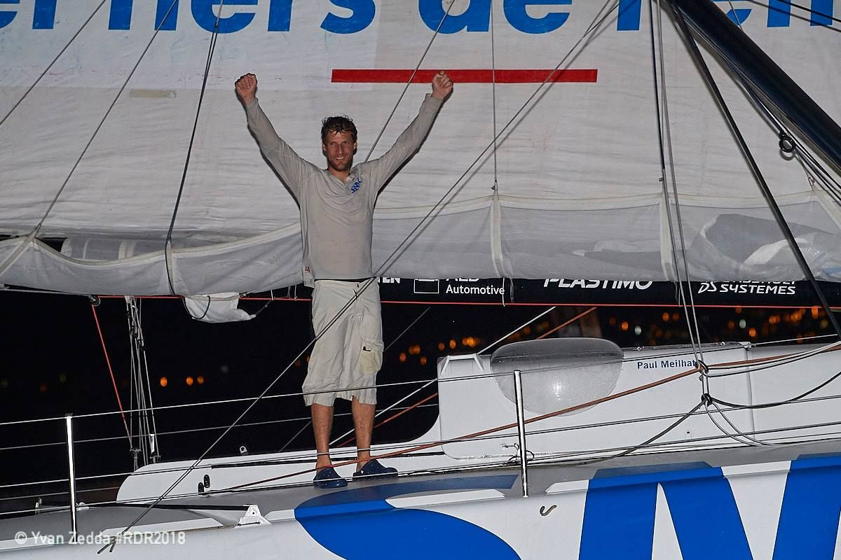 Paul Meilhat looks back at the IMOCA contest
